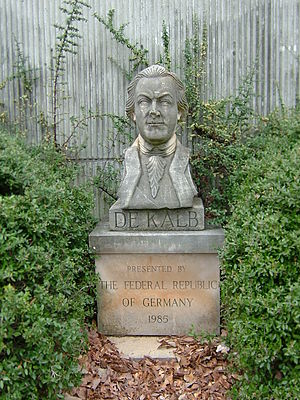 Johann de Kalb - DeKalb bust in Decatur, Georgia