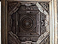 Decorative ceiling inside the Akkana Basadi at Shravanabelagola.jpg