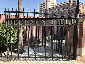 Dedeaux Field - Image: Dedeaux Field Main Gate