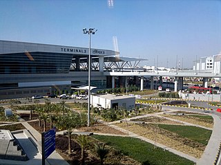 International airport in Delhi, India