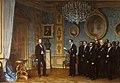 Dell'Acqua Ernennung Maximilians zum Kaiser Mexikos.jpg