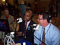 Democratic Strategist Jamal Simmons & Bill Adair from Politifact.com (3140999903).jpg