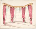 Design for Red Curtains with a Gold Pelmet MET DP807419.jpg