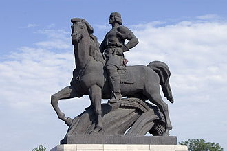 Dobrotitsa - Monument to Dobrotitsa in Dobrich (Bulgaria).