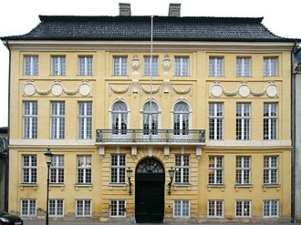 Frederick VIII of Denmark - Frederick's birthplace, the Yellow Palace in Copenhagen