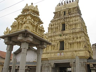 Bangalore Rural district - Venugopalaswamy Temple at the historical Devanahalli Fort