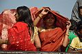 Devotees - Durga Idol Immersion Ceremony - Baja Kadamtala Ghat - Kolkata 2012-10-24 1395.JPG