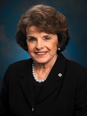 United States congressional delegations from California - Senator Dianne Feinstein (D)