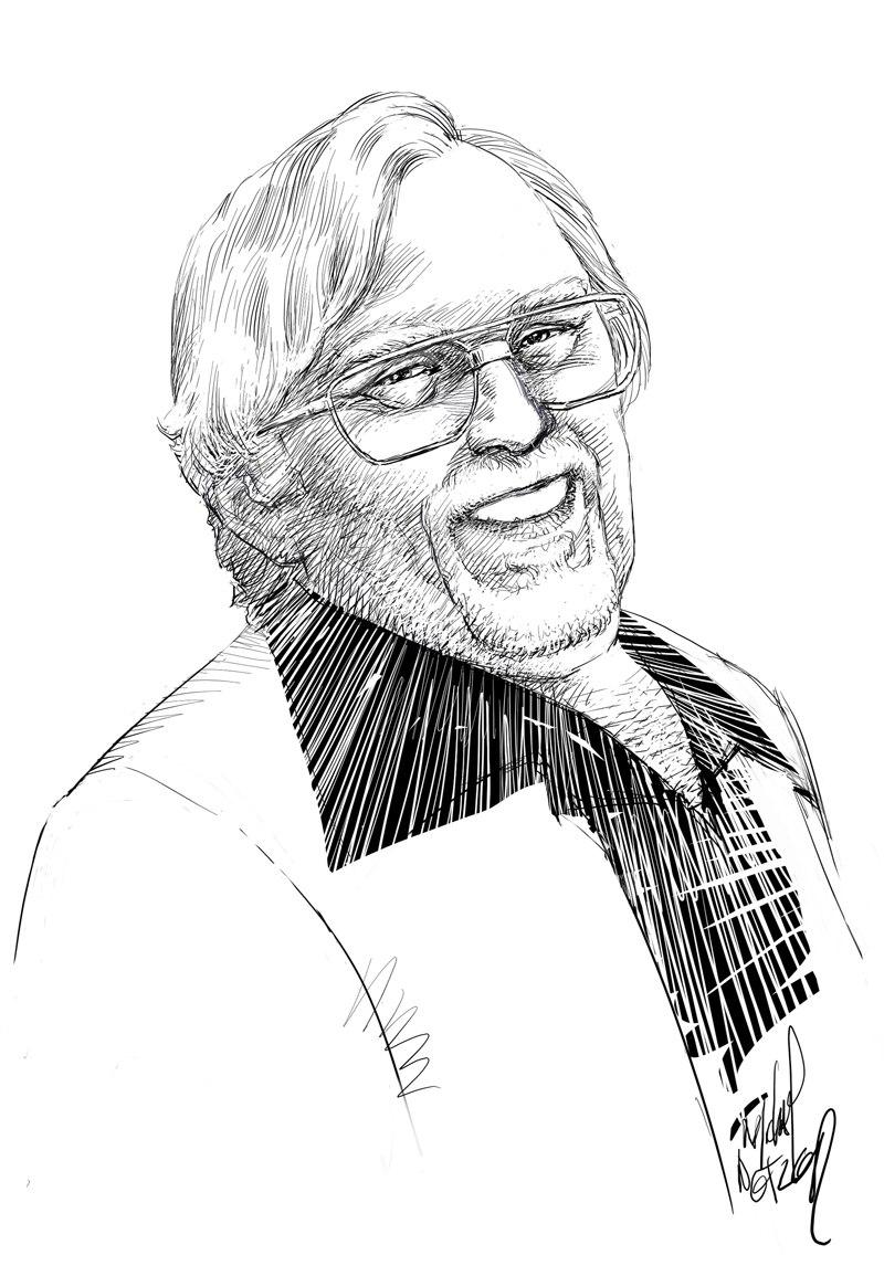 Dick Giordano Portrait