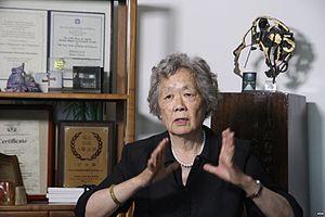 Ding Zilin - Zilin in 2014