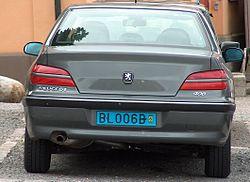 registreringsnummer bil sverige
