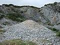 Disused Limestone Quarry, Port-Eynon Point - geograph.org.uk - 1522958.jpg