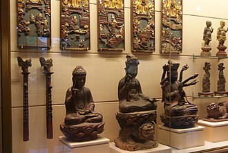 Vietnamese art - Pieces of wooden art from 17th and 18th century