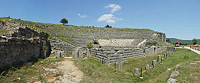 Dodona (Δωδώνη) - Ancient Greek theatre.JPG