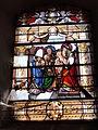 Dohis (Aisne) église, vitrail présentation du Christ.JPG