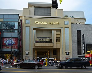 Dolby Theatre - Front facade of the Dolby Theatre in Hollywood