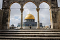 Dome of the Rock viewed through the Northern Qanatirs II, Jerusalem.jpg