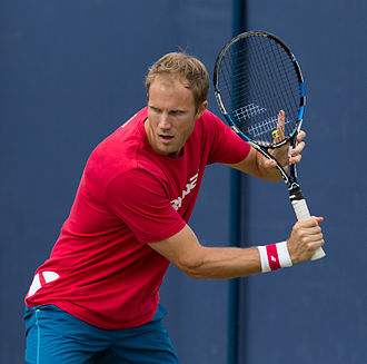Dominic Inglot - Inglot at the 2015 Aegon Championships in London, England.