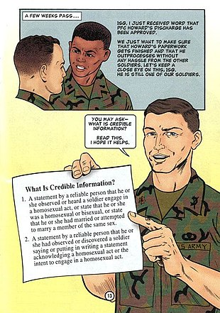 Homosexual in the military history