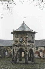 Megginch Castle stables
