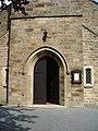 Doorway, The Parish Church of St Lawrence with St Paul, Longridge - geograph.org.uk - 465134.jpg
