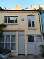 Douglas Bader 5 Petersham Mews, Kensington, London SW7 5NR, Royal Borough of Kensington and Chelsea (long shot).JPG