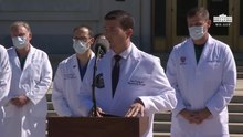 File:Dr. Sean Conley, Physician to the President, Provides an Update on President Trump.webm