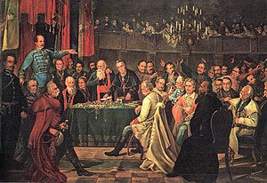 Croatian Parliament - Meeting of the Croatian Parliament, 1848 (Dragutin Weingärtner)