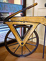 Draisine or Laufmaschine, around 1820. Archetype of the Bicycle. Pic 02.jpg