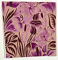 Drawing, Textile Design- Tropical Flowers, 1912–13 (CH 18805377).jpg