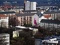 Dresden Johannstadt Dürerstraße Wandbild im Kontext.JPG