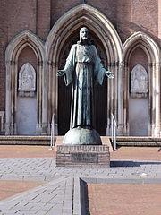 statue of Sacred Heart of Jesus Christ (Dreumel)