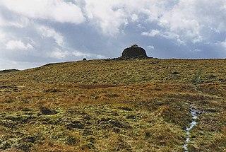 Drygarn Fawr mountain in the United Kingdom