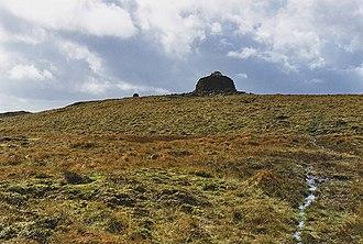 Drygarn Fawr - Eastern approach to Drygarn Fawr