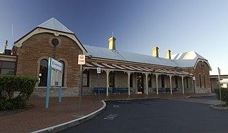 Dubbo railway station - Image: Dubbo NSW 2830, Australia panoramio (31)