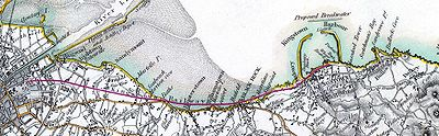 Dublin Kingstown railway 1837 map.jpg