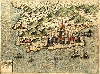 Albanian–Venetian War - Durrës in 1573.