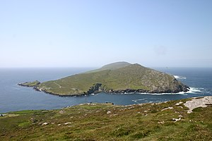 Dursey Island - Dursey Island as seen from a hiking path on the mainland
