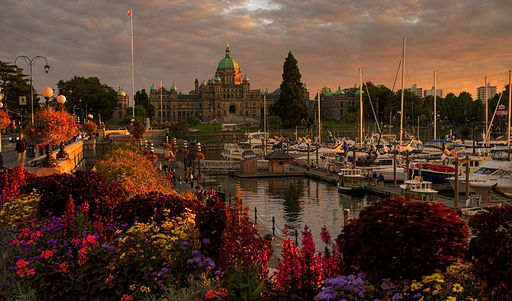 Dusk on the Inner Harbour (FP explored)