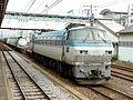 EF66101 loco at Fuji Station 200511.jpg