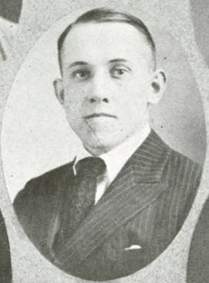 Dick Romney - Romney pictured in Buzzer 1921, Utah Agricultural yearbook