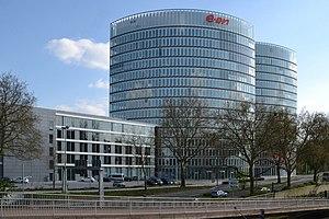 E.ON - Image: EON Ruhrgas Zentrale Essen