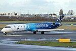 ES-ACC, Canadair CRJ-900, (15262) Nordica - LOT Polish Airlines, Amsterdam (AMS), 21-01-2018 (25945335218).jpg
