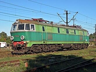PKP class ET22 - ET22-641 (right side)
