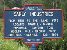 Early Industry of McDonough, NY