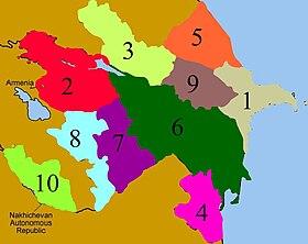 Regioni economiche dell'Azerbaigian