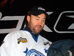 Ed Belfour, Canadian ice hockey player of Leks...