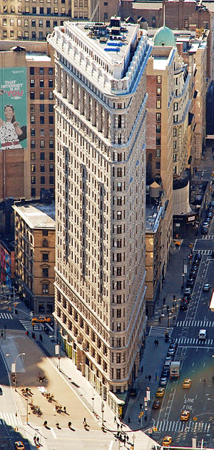 George A. Fuller - The Flatiron Building, seen here in 2010, was originally called the Fuller Building, named after George A. Fuller.