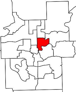 Edmonton-Highlands-Norwood - 2010 boundaries