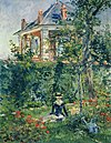 Edouard Manet - Girl in the Garden at Bellevue.JPG